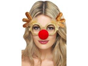 Vánoční brýle Sob