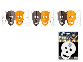Halloween girlanda Lebka 3m