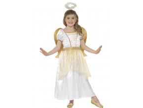 Dětský kostým Anděl deluxe