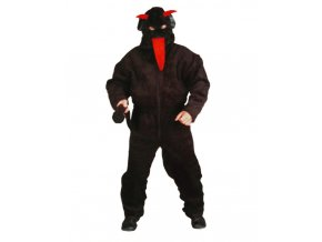 Černý kostým čert