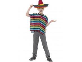 Dětský set pončo a sombrero