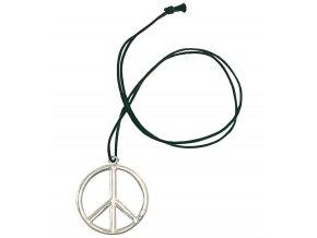 Hippies náhrdelník kovový
