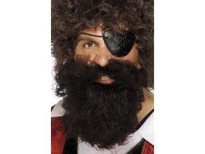 Hnědý plnovous Pirát