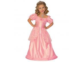 Dětské šaty růžové princezna