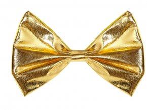 Pánský party motýlek zlatý