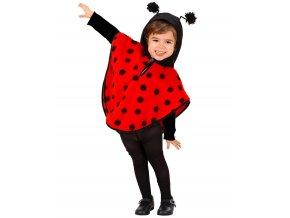 Dětský kostým Beruška (pončo)