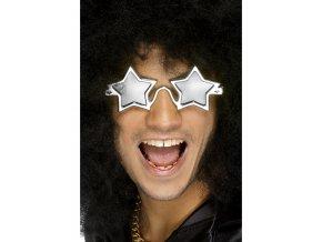 Brýle Superstar stříbrné