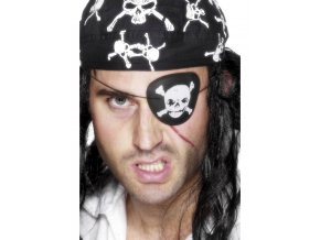 Pirátská záslepka Lebka