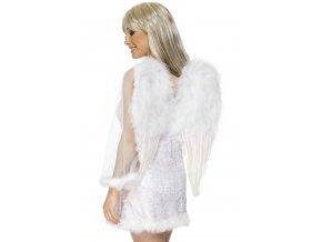 Andělská křídla bílá 50x60cm