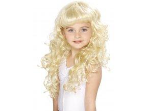 Dětská blonďatá paruka