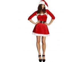 Vánoční kostým paní Santová