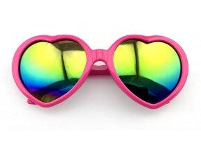 Retro brýle srdce 80.léta