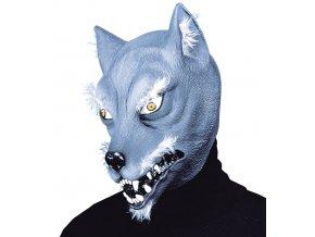 Latexová maska Vlk
