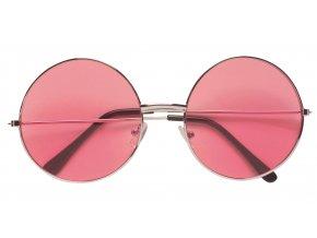 Brýle velké růžové 70.léta