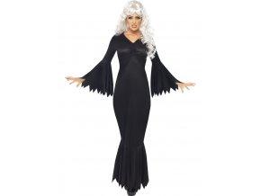 černé šaty upírka