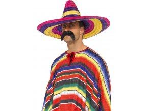 Mexické sombrero barevné