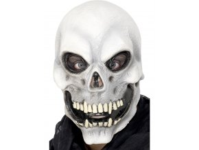 Gumová maska Lebka