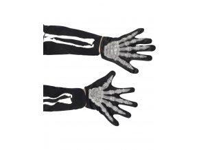 Dětské rukavice kostlivec