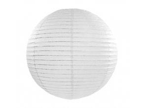 Lampion bílý, 20cm