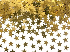 Party konfety hvězdy zlaté, 30g