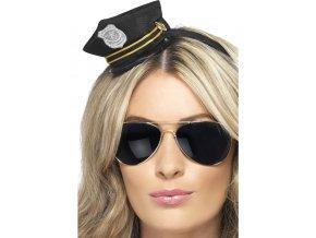 Mini čepice Policejní