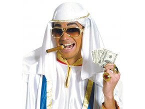 Arabská pokrývka hlavy Šejk