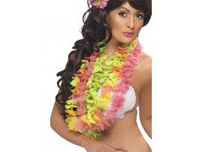 Havajské věnce 3ks barevné