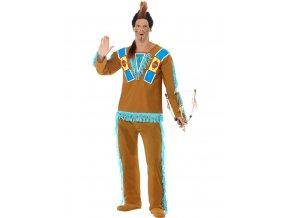 Pánský kostým Indiánský válečník