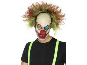Halloween paruka Šílený Klaun