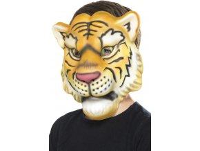 Dětská zvířecí maska Tygr