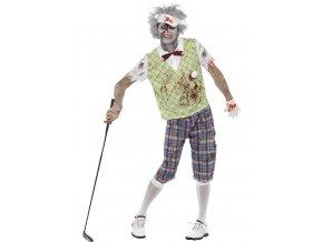 Pánský kostým Zombie golfista