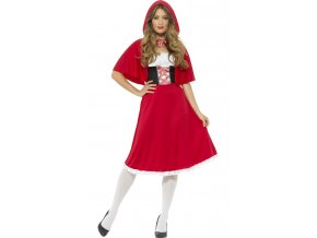 Dámský kostým Červená Karkulka