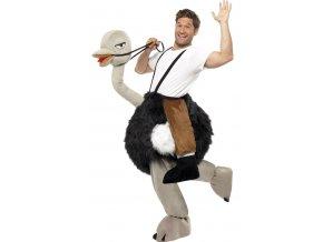 Vtipný kostým Pštros