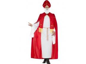 kostým mikuláše s pláštěm