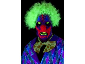 Halloween maska UV Klaun
