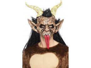Maska Krampus čert