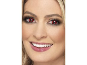 Barevné kontaktní krvavé čočky