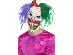 Horor maska šíleného klauna