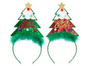 Čelenka Vánoční stromeček