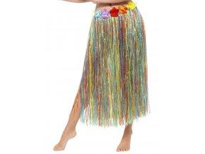 havajská sukně barevná