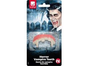 Upíří zuby gumové
