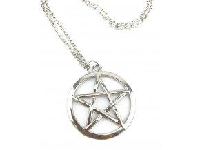 Čarodějnický náhrdelník Pentagram