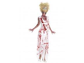 Dámský kostým zombie Maturantka