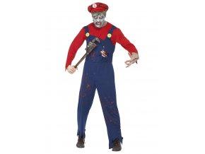 Pánský kostým zombie Super Mario
