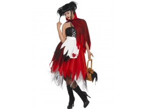 Zombie kostým Červená Karkulka