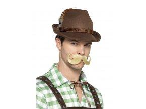 Bavorský klobouk hnědý