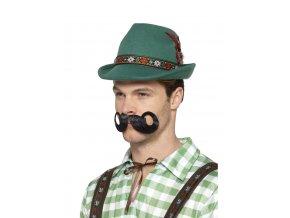 Bavorský klobouk zelený