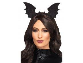 Halloweenská čelenka Netopýří křídla