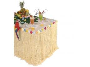 Havajská stolní sukně
