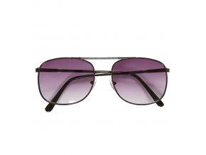 Brýle černé stínované 80. léta